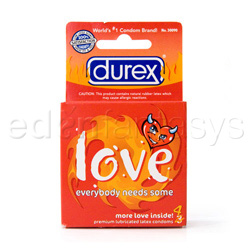 Male condom - Durex love lubricated - view #3