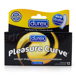 Male condom - Durex Pleasure Curve - view #4