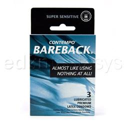 Male condom - Contempo bareback 3 pack - view #3