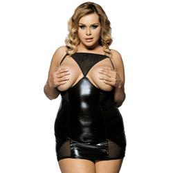 Femme fatale queen size - mini dress