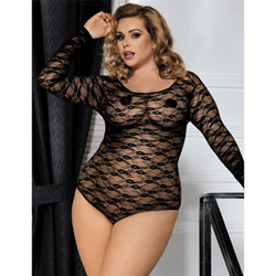 Long sleeve teddy 3XL (use pic from R80373P) -