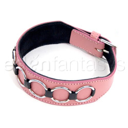 "Collar  - Multiple ""O"" doggie collar - view #1"