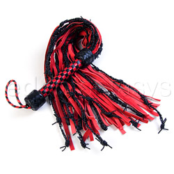 Gated barbed wire flogger - whip