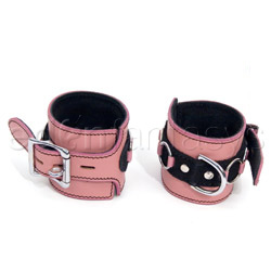 Wrist cuffs - Pretty in pink wrist cuffs - view #2