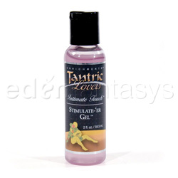 Tantric lovers stimulate-'er gel - lubricant