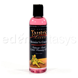 Tantric lovers edible warming oil