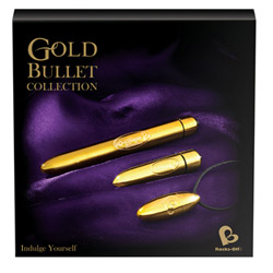 Gold bullet collection - bullet vibrator
