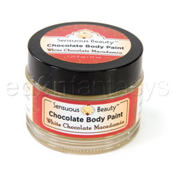 Sensuous chocolate body paint