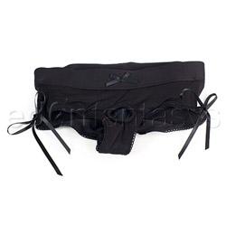 Panty harness - Sasha harness black - view #2