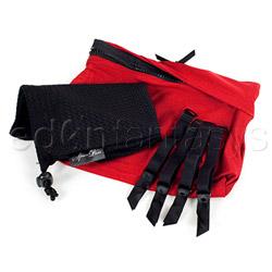 Panty harness - Sasha harness red - view #5