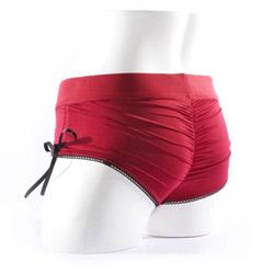 Panty harness - Sasha harness red - view #7