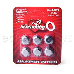 Batteries - LR44 Button cell batteries - view #1