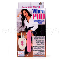 Traditional vibrator - Vibro pod digital music vibe - view #5