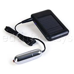 Solar bullet - bullet vibrator