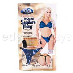 Vibrating panty  - Remote control thong - view #5