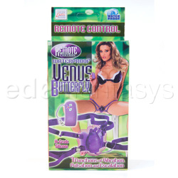 Strap-on vibrator - Waterproof remote control venus butterfly - view #4