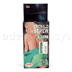Traditional vibrator - Emerald screw vib dong - view #3