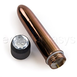 Traditional vibrator - Precious Metal gems - view #5