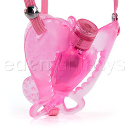 Strap-on vibrator - Passion wings - view #4