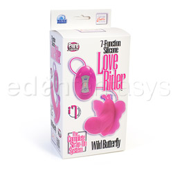 G-spot rabbit vibrator - Love Rider wild butterfly - view #5