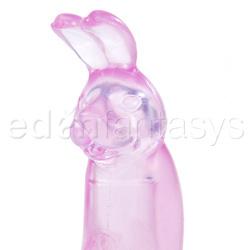 """Rabbit vibrator - Customize your """"O"""" pink bunny - view #4"""