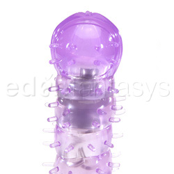 Traditional vibrator - Waterproof silicone softees purple - view #2