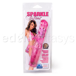 Traditional vibrator - Sparkle softees swirl - view #6