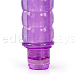 Traditional vibrator - Jelly rapture nubby - view #3