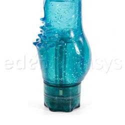 Traditional vibrator - Emerald studs cliterific - view #3