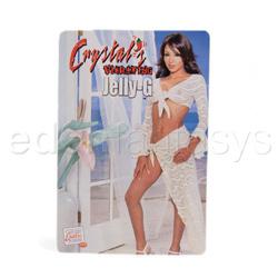 Vibrador para el Punto-G - Crystal's jelly - G vibe - view #4