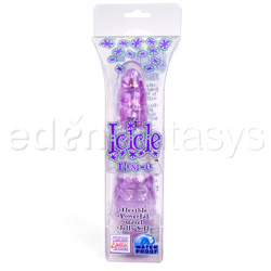 Traditional vibrator - Icicle flexi-Q - view #5