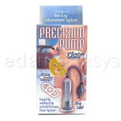 Penis pump - Precision pump with erection enhancer - view #2