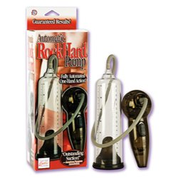 Automatic rock hard pump - penis pump
