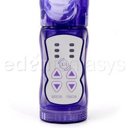 Rabbit vibrator - Silicone clitifier triple pleasure arouser - view #4