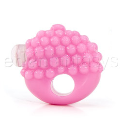 Silicone couples enhancer - vibrating penis ring