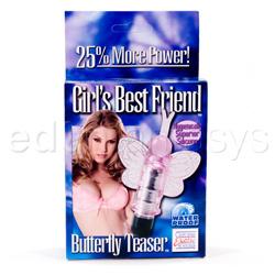 Discreet massager - Girls best friend butterfly teaser - view #5