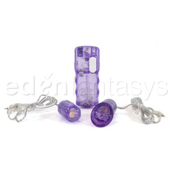 Double play massager - clitoral stimulator