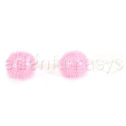 Pink pleasure balls