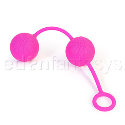 Posh silicone O balls - exerciser for vaginal muscles