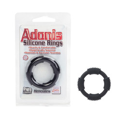 Cock ring - Adonis Silicone Rings Hercules - view #2