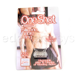 Cock ring - One shot wireless silicone vibro ring - view #3