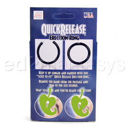 Cock ring - Quick release erection ring - view #3