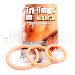 Tri-rings - multipurpose ring