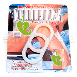Penis pump erection enhancer