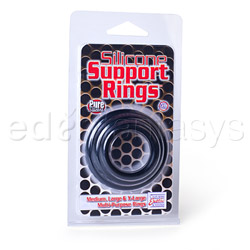 Cock ring - Silicone support rings - view #3