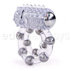 Cock and balls device - Maximus enhancement ring 10 beads - view #2