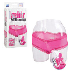 Vibrating panty  - Love Rider self pleasurizer - view #2