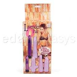 Vibrator kit  - Lavender 6 pak - view #3