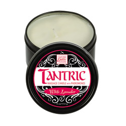 Tantric massage candle with pheromones - Massage candle