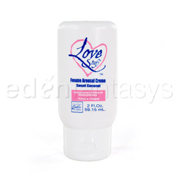 Love stuff femme arousal creme - arousal lube